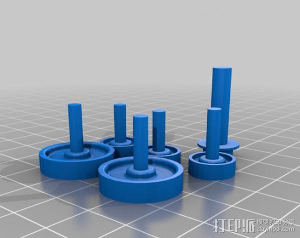 过山车车厢 3D模型  图16