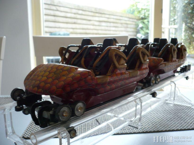 过山车车厢 3D模型  图20