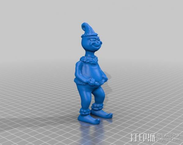 圣诞怪杰 格林奇 3D模型  图1