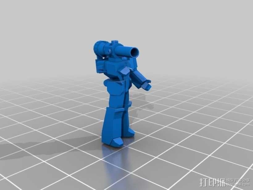 威震天  3D模型  图1