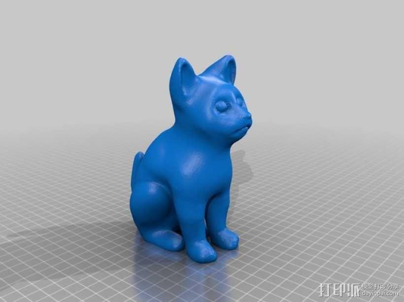 小猫 3D模型  图2
