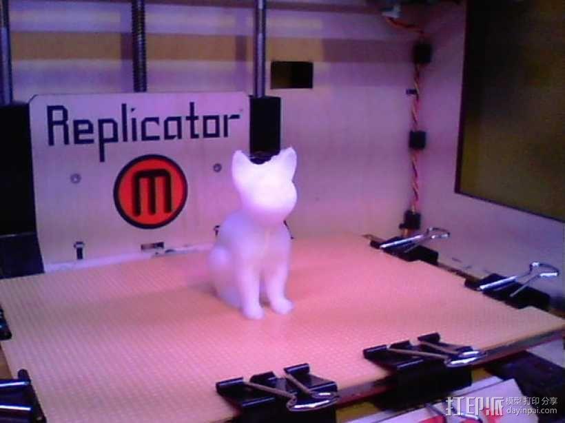小猫 3D模型  图3