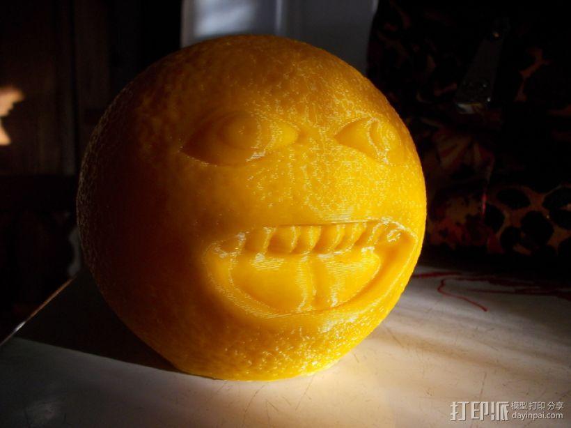 愤怒的橙子 3D模型  图2