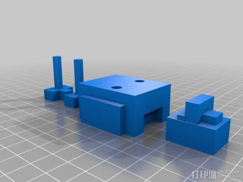 小鸡 体素模型 3D模型  图2