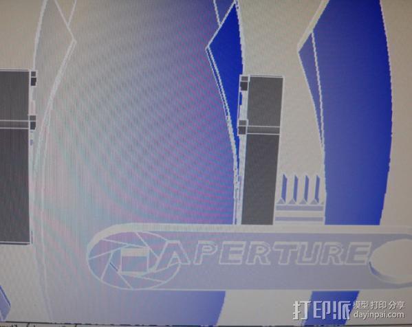 传送塔 游戏造型 3D模型  图2