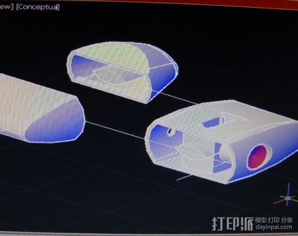 传送塔 游戏造型 3D模型  图5