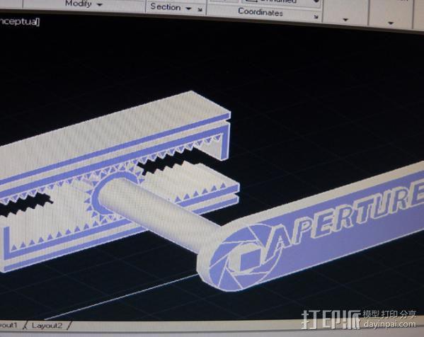 传送塔 游戏造型 3D模型  图4
