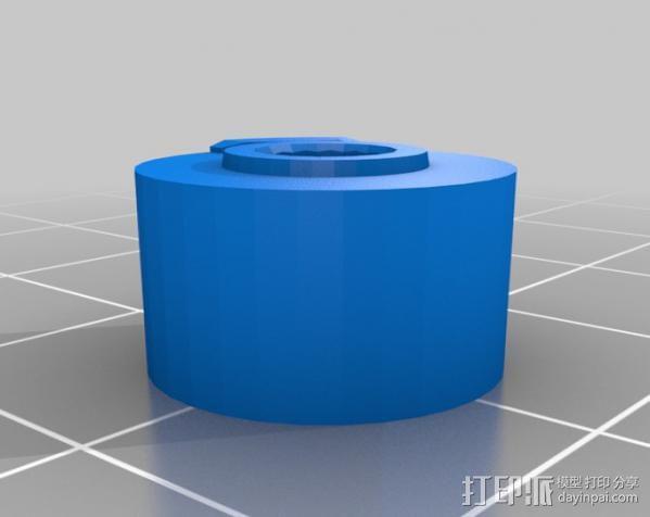 三角翼赛车 3D模型  图2