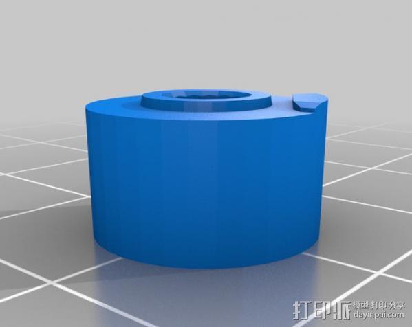 三角翼赛车 3D模型  图3