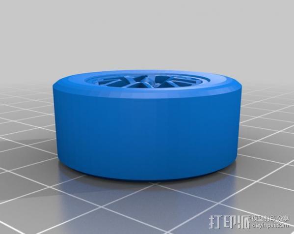 三角翼赛车 3D模型  图4