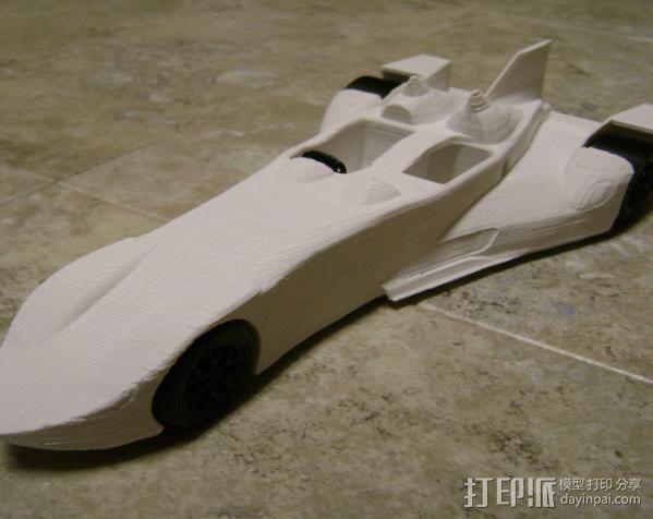 三角翼赛车 3D模型  图9