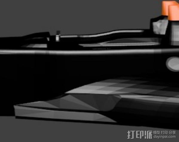 三角翼赛车 3D模型  图6