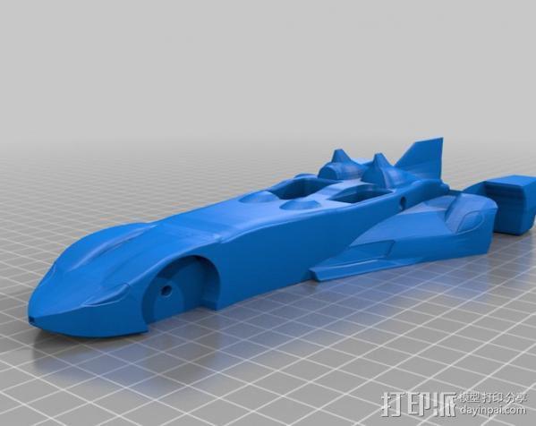 三角翼赛车 3D模型  图10