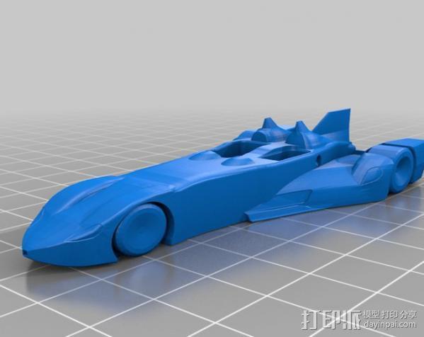 三角翼赛车 3D模型  图16