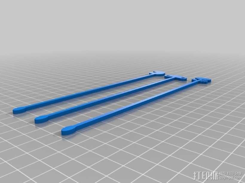 鸡尾酒签  3D模型  图4
