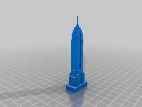 纽约帝国大厦 3D模型