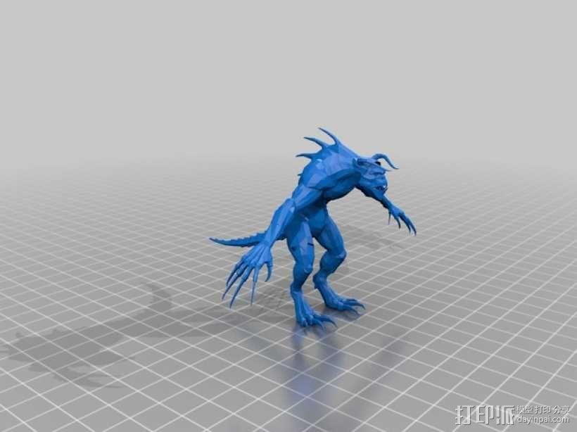 捕猎者死亡爪 3D模型  图3