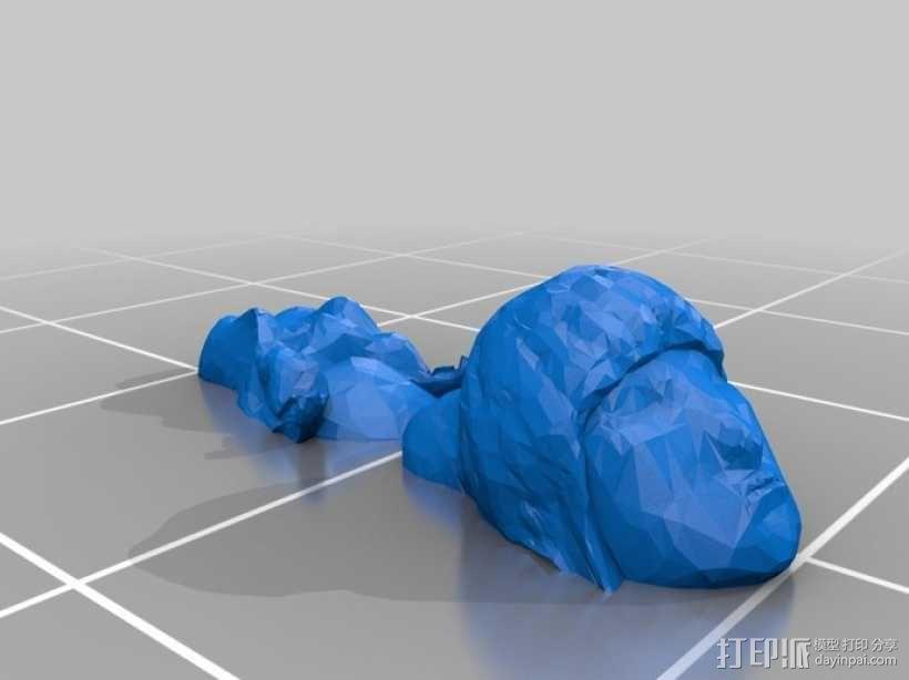 克隆人Jools Calixa 3D模型  图2