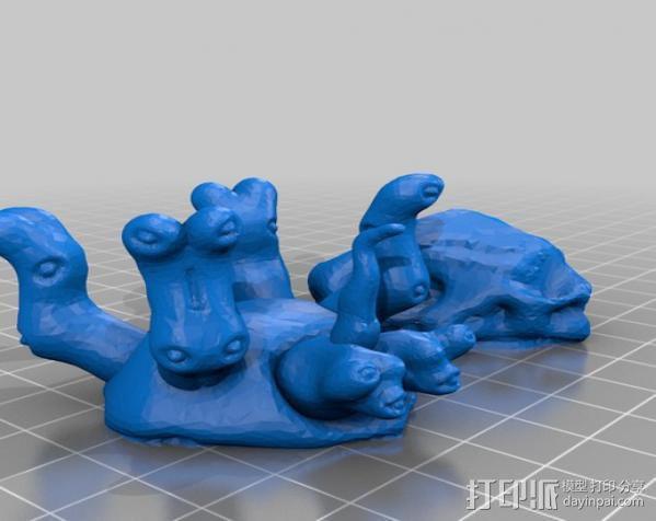 地幔蟹Porter 3D模型  图1