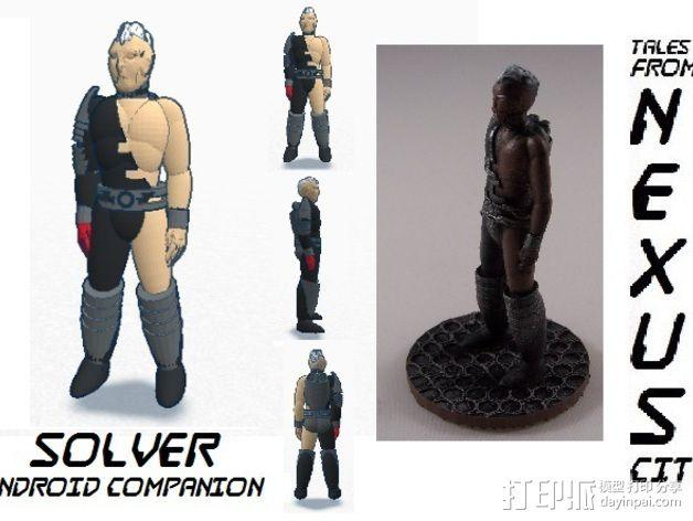 机器人Solver 3D模型  图5