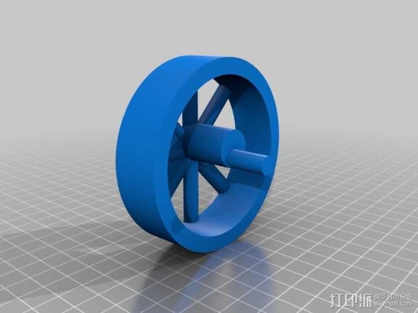 蒸汽机 3D模型  图5