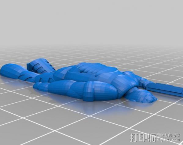 机械战士Prance Vichard 3D模型  图3