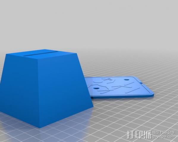 安全逃生标志 3D模型  图2