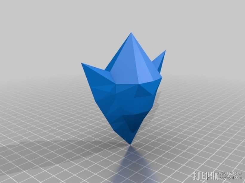 塞尔达传说 石头 3D模型  图1