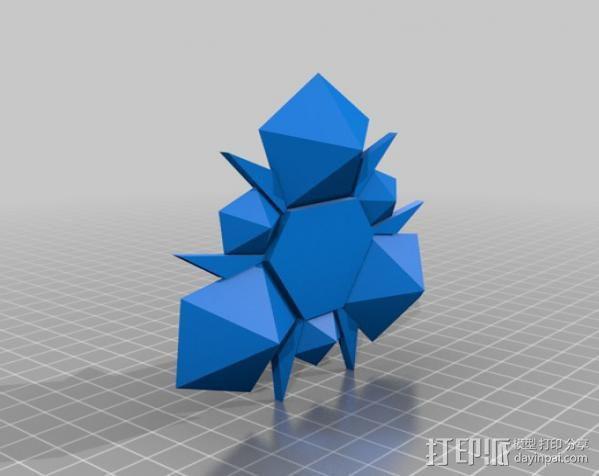 塞尔达传说 石头 3D模型  图3