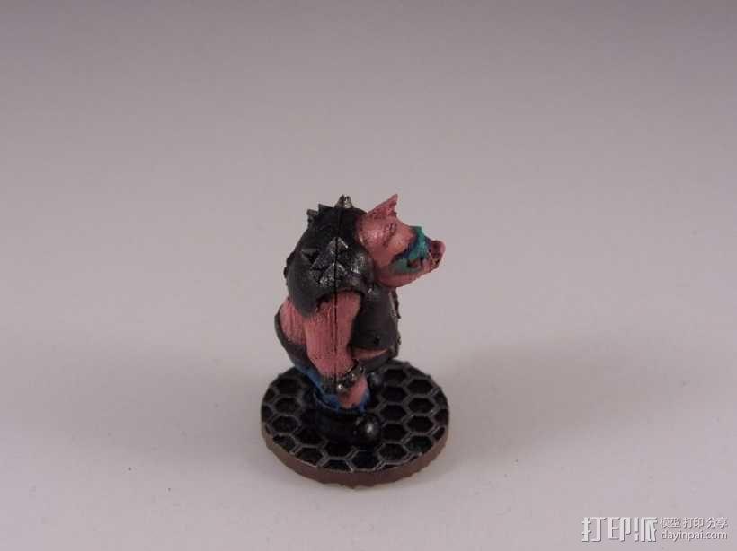 猪战士Fabiano Porcini 3D模型  图9
