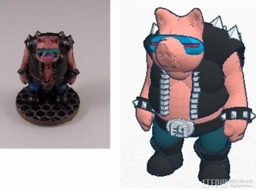 猪战士Fabiano Porcini 3D模型  图11