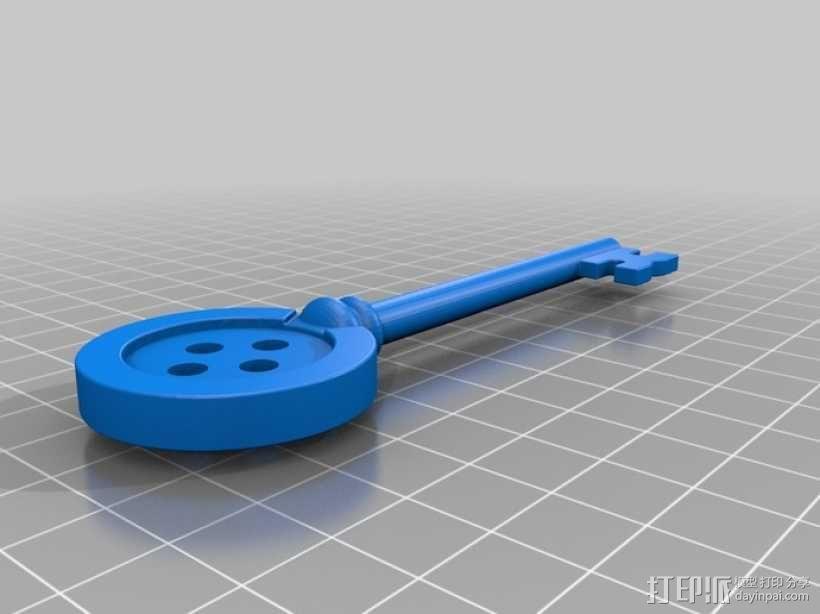 鬼妈妈的万能钥匙 3D模型  图1