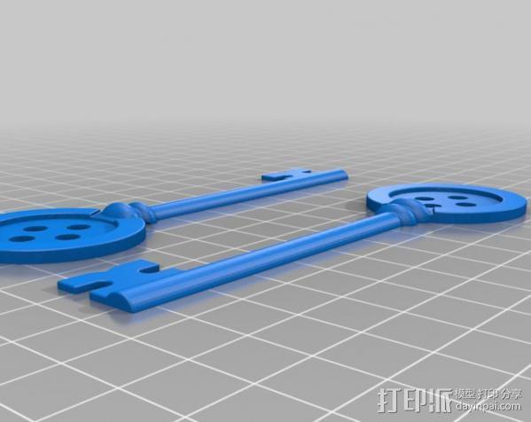 鬼妈妈的万能钥匙 3D模型  图2