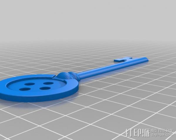 鬼妈妈的万能钥匙 3D模型  图3
