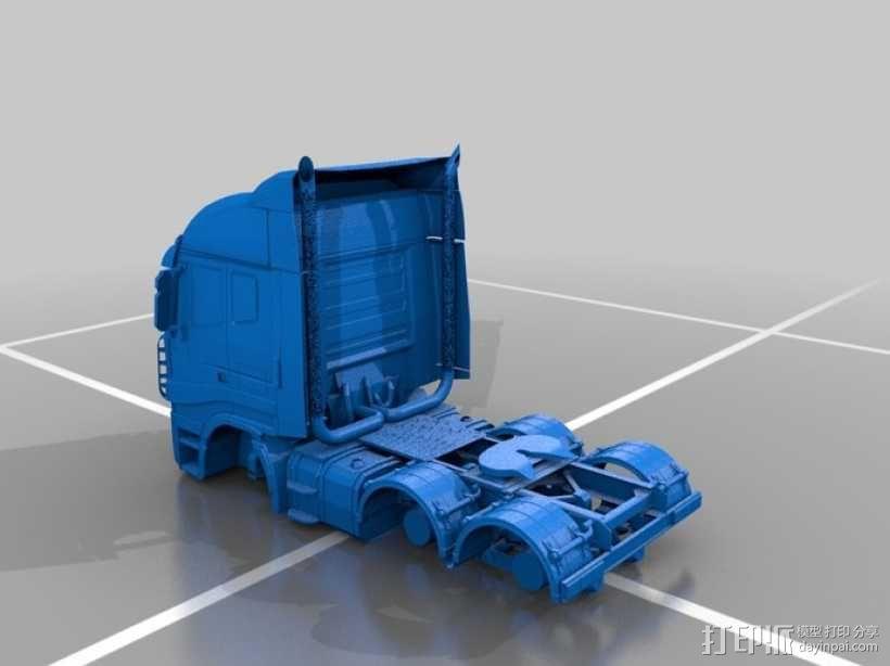 Iveco依维柯卡车 3D模型  图1