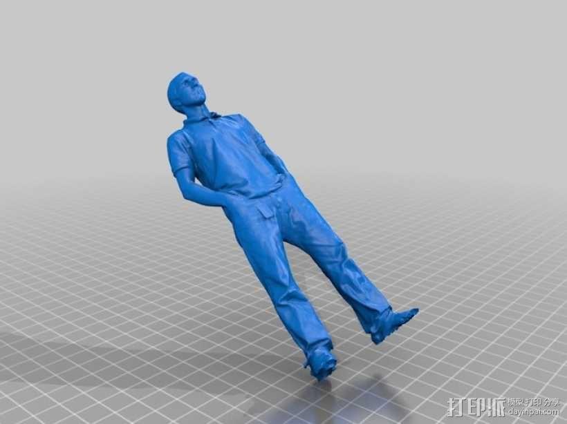 写实人物模型 3D模型  图1