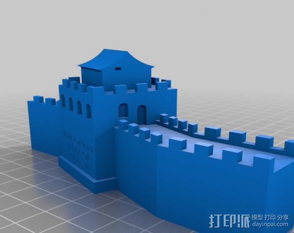 中国长城 3D模型  图2