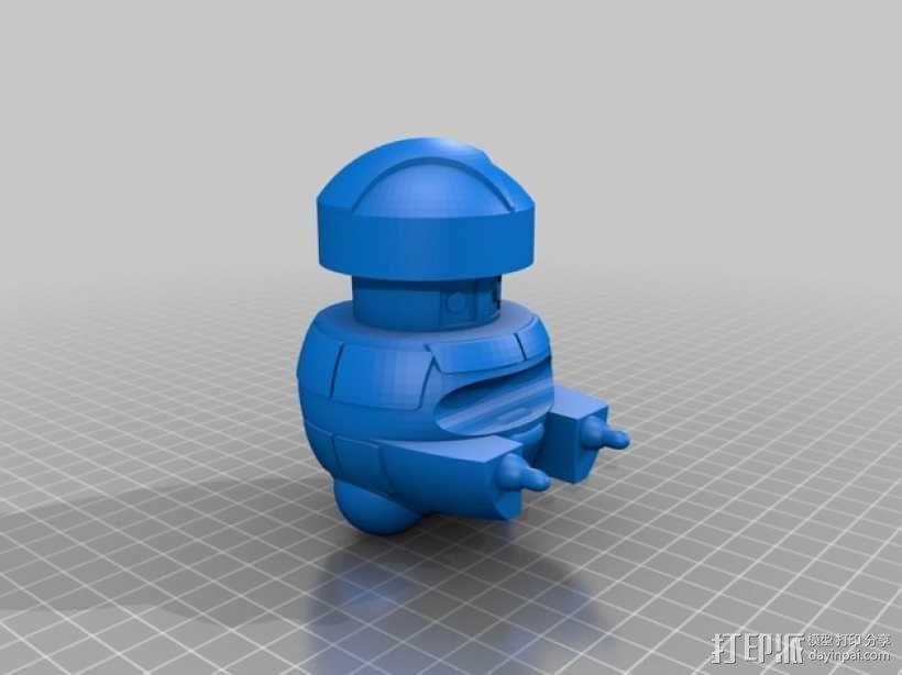 Vincent机器人 3D模型  图1