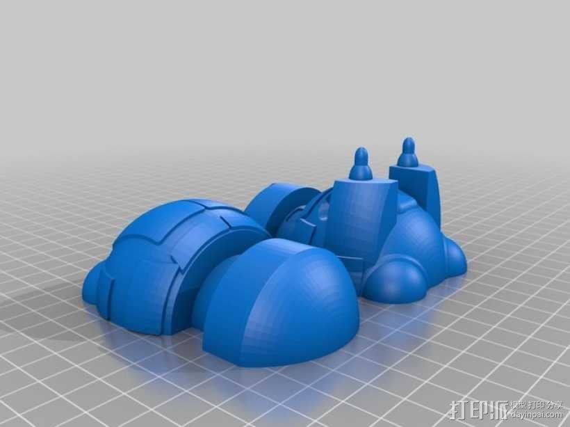 Vincent机器人 3D模型  图2
