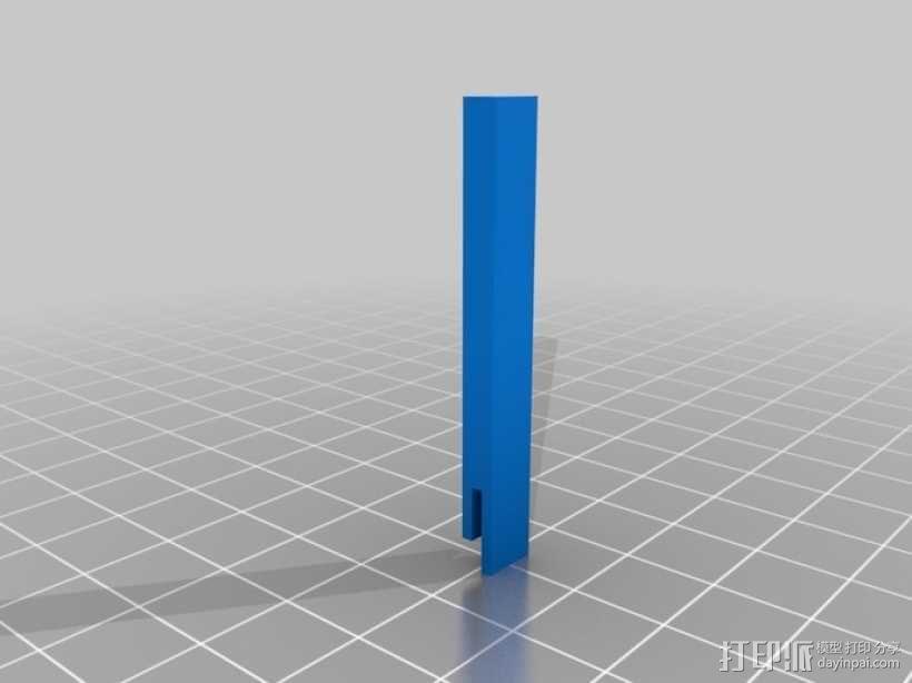 无主之地 独轮机器人  3D模型  图1