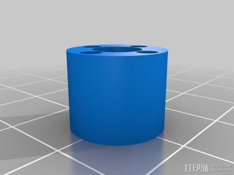 无主之地 独轮机器人  3D模型  图4