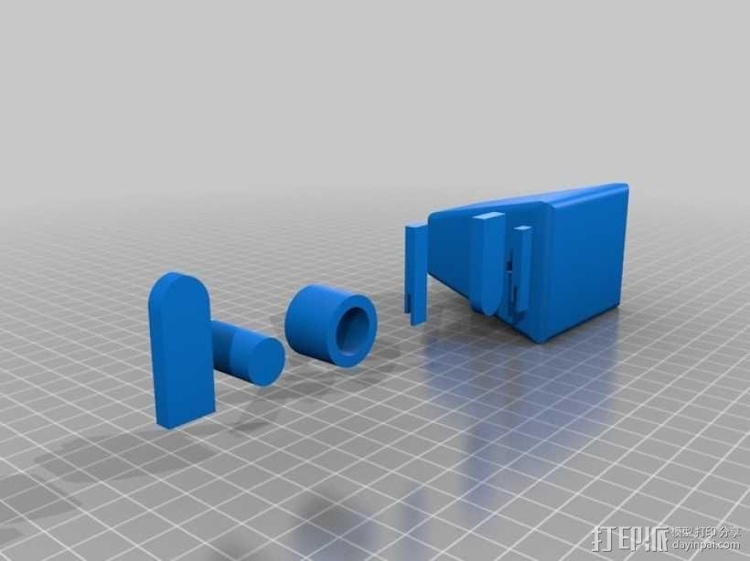 无主之地 独轮机器人  3D模型  图9