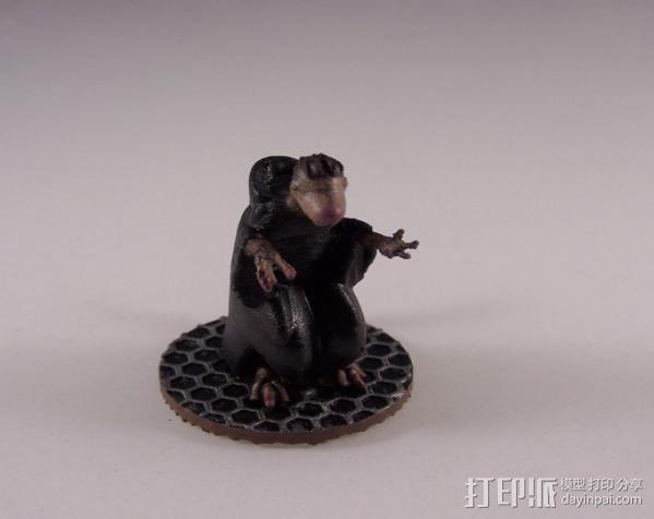 人马巫师 3D模型  图3