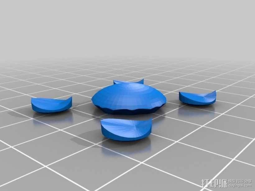 星际迷航 红花衣饰 3D模型  图3