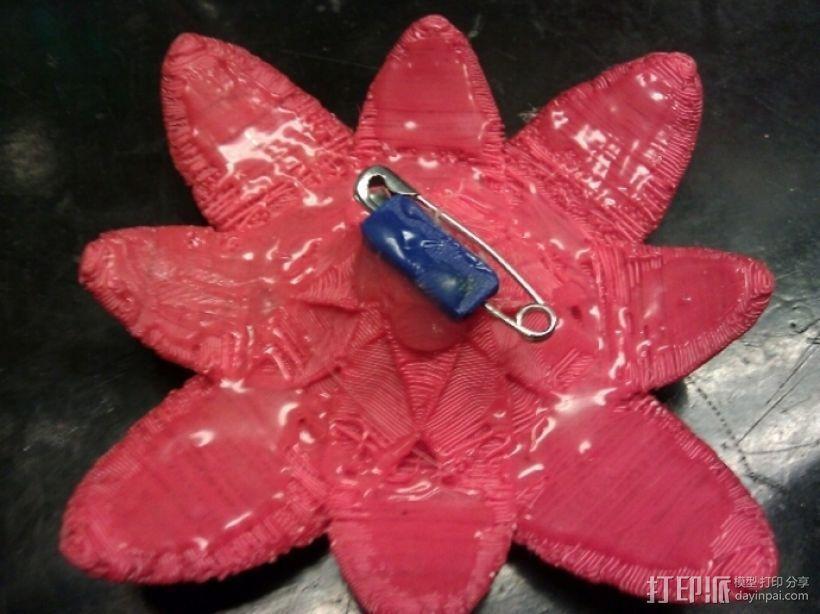 星际迷航 红花衣饰 3D模型  图6
