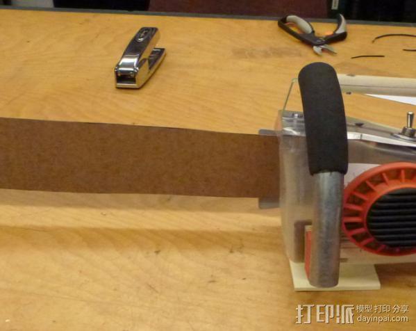 电锯 3D模型  图6