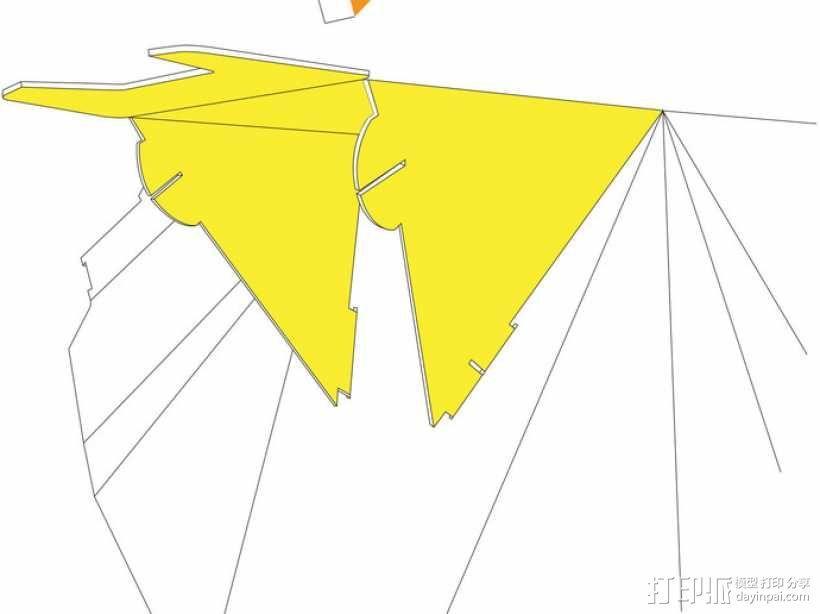 凳子  胶折凳 3D模型  图10