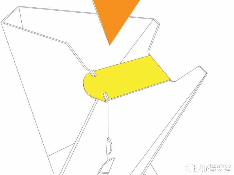 凳子  胶折凳 3D模型  图14