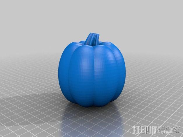 南瓜 3D模型  图1