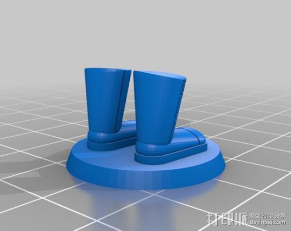 迷你靴子 3D模型  图5
